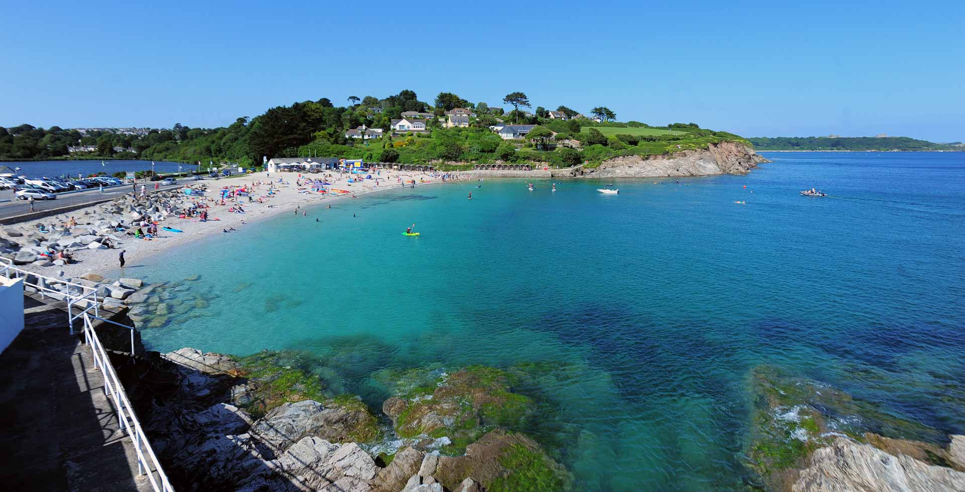 Swanpool Beach in Falmouth Cornwall Cottages near Swanpool ...