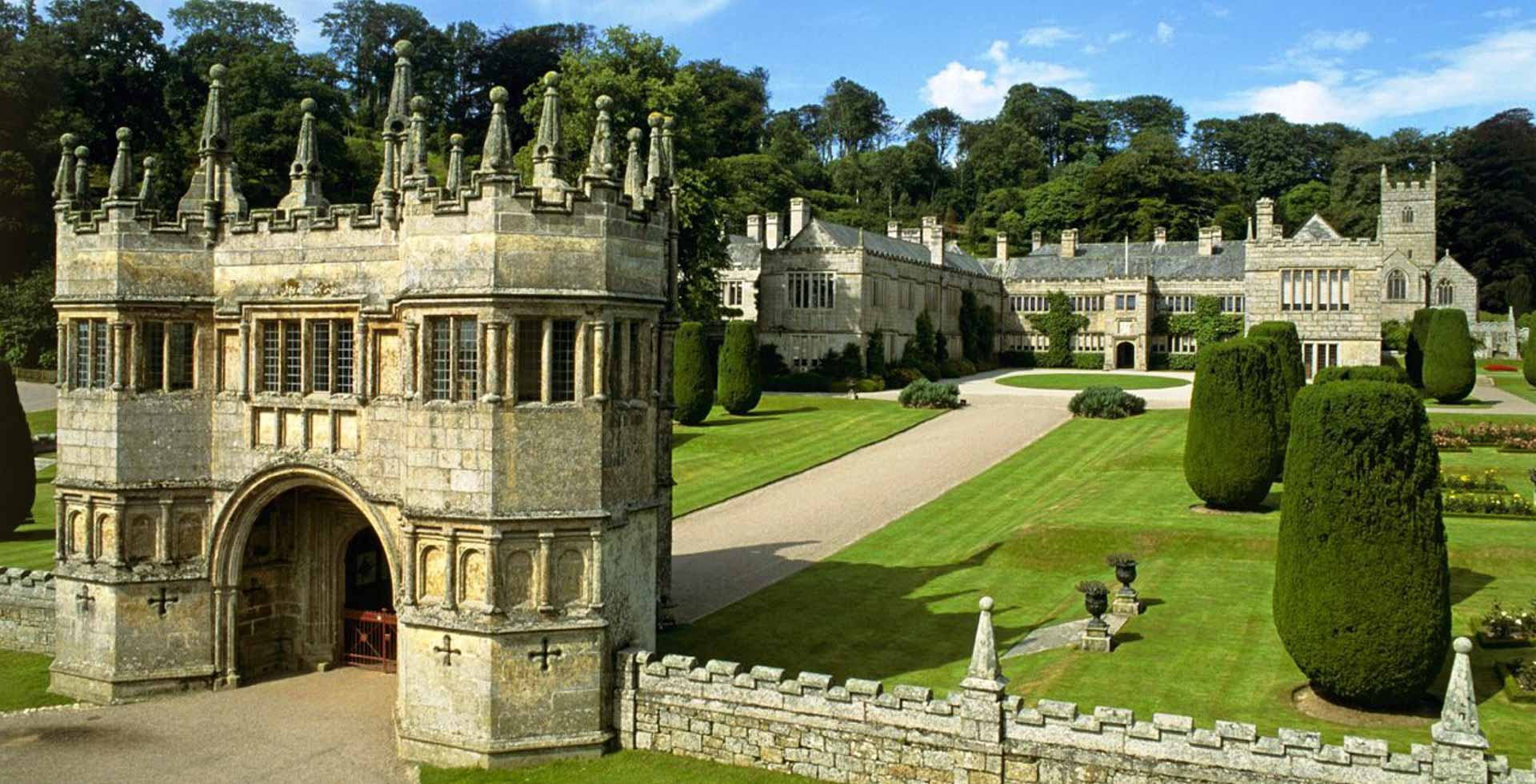 Lanhydrock House And Gardens Cornwall Cottages Near