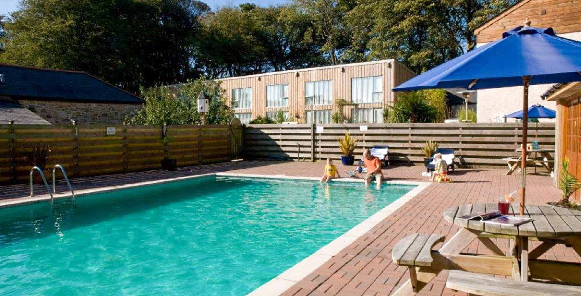 Outdoor home pool  Cornwall Cottages with Swimming Pool Holiday Homes Apartments with Pool